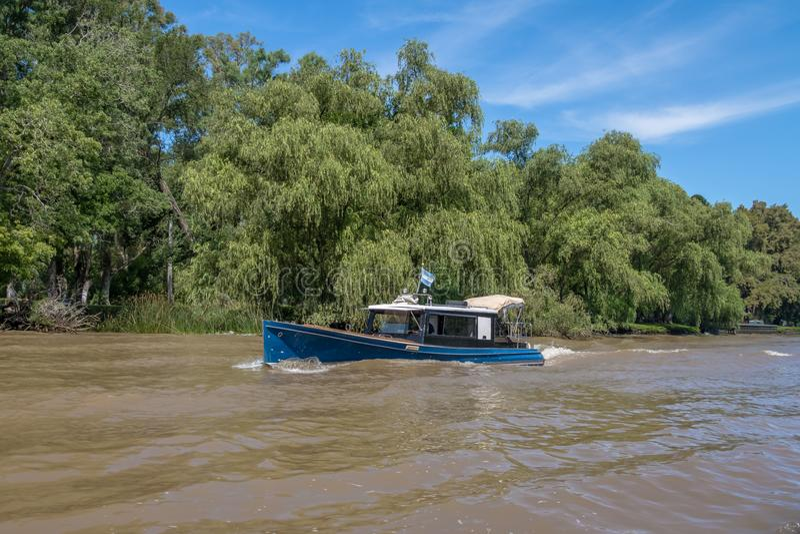 Tigre delta - Tigre, Buenos Aires prowincja, Argentyna zdjęcie royalty free