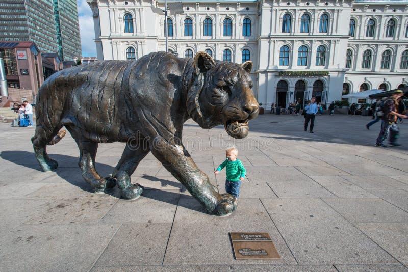 Tigre di Oslo Norvegia immagine stock