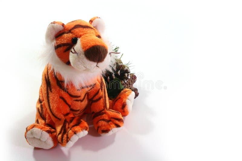 Tigre do brinquedo foto de stock