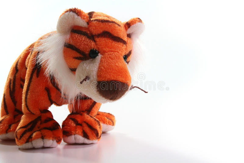 Tigre do brinquedo foto de stock royalty free