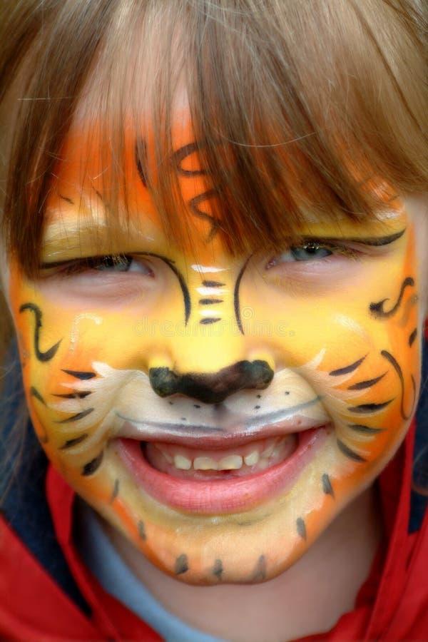 Tigre innocent photographie stock libre de droits