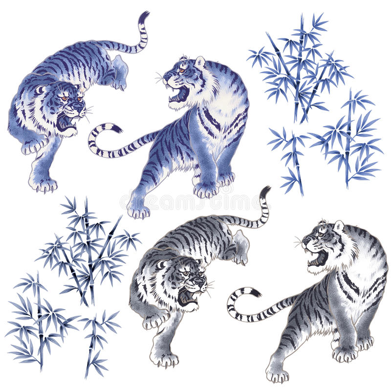 Tigre japonés libre illustration
