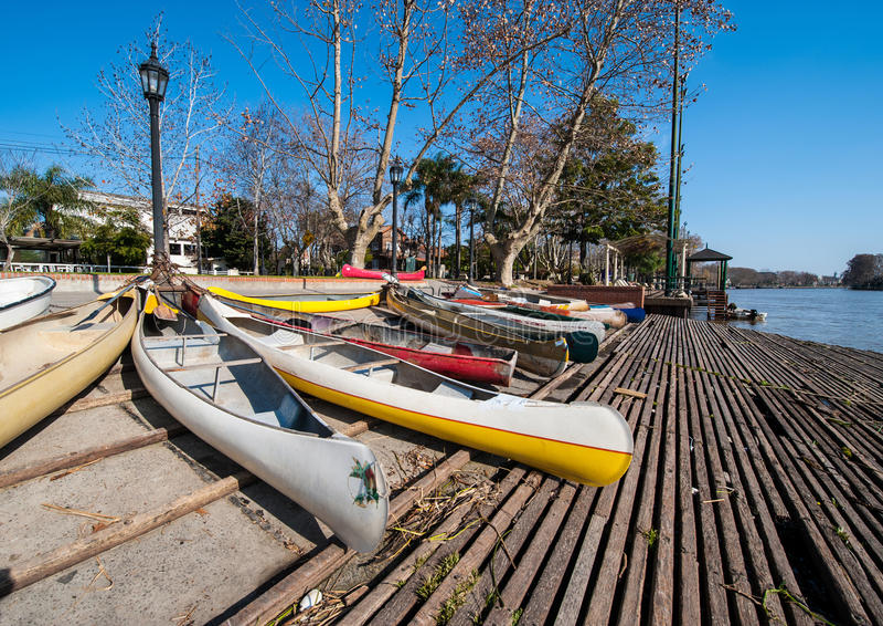 Tigre, prowincja Buenos Aires, Argentyna obraz royalty free