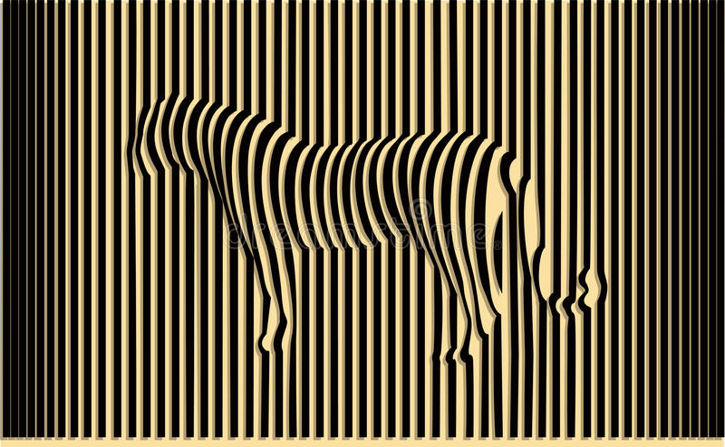 Tigre selvaggia illustrazione vettoriale