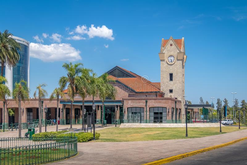 Tigre Train Station - Tigre, Buenos Aires, Argentina. Tigre Train Station in Tigre, Buenos Aires, Argentina royalty free stock image