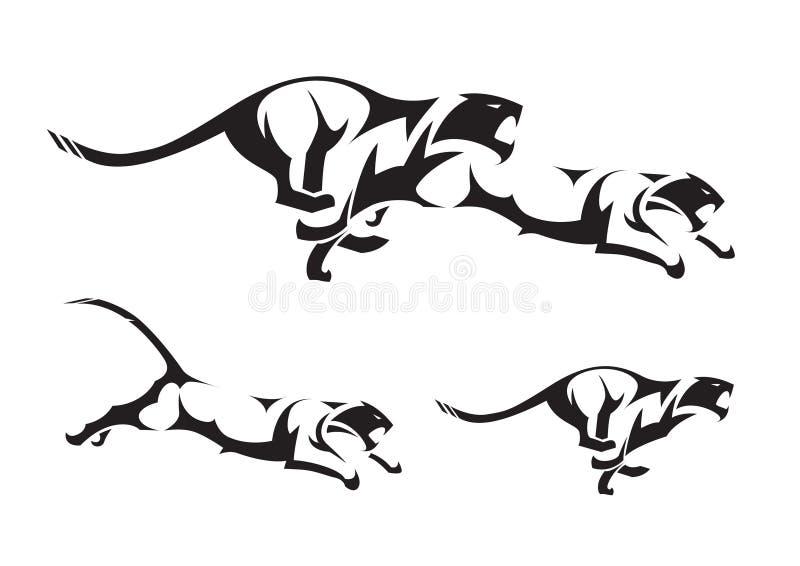 Tigre tribale royalty illustrazione gratis