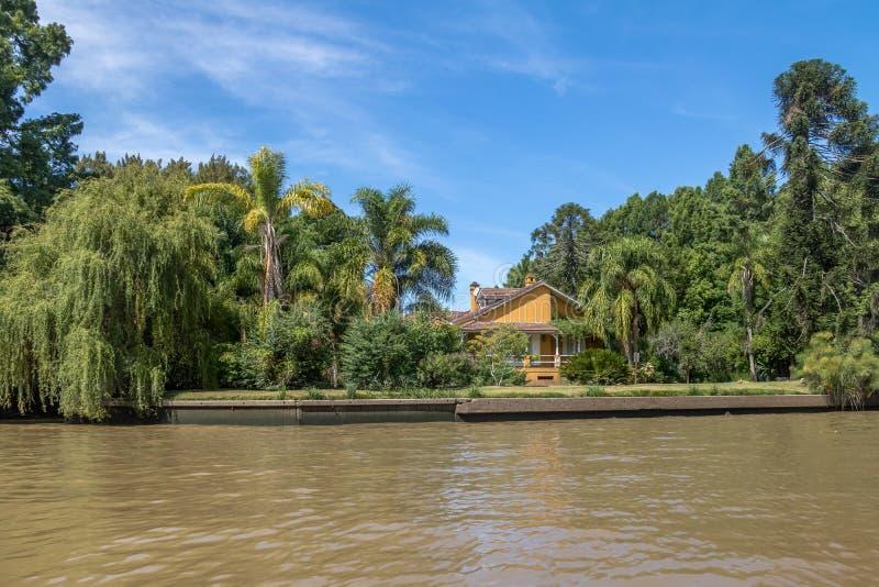 Tigredelta - Tigre, de Provincie van Buenos aires, Argentinië royalty-vrije stock foto