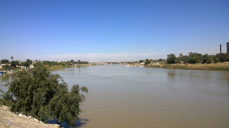 Tigris River foto de archivo