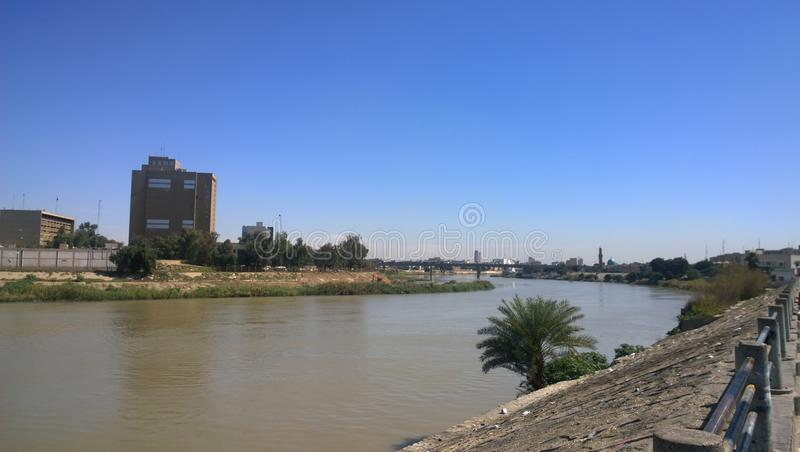 Tigris River image stock