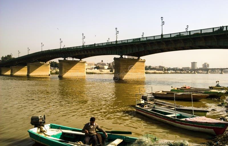 Tigris River imagen de archivo libre de regalías