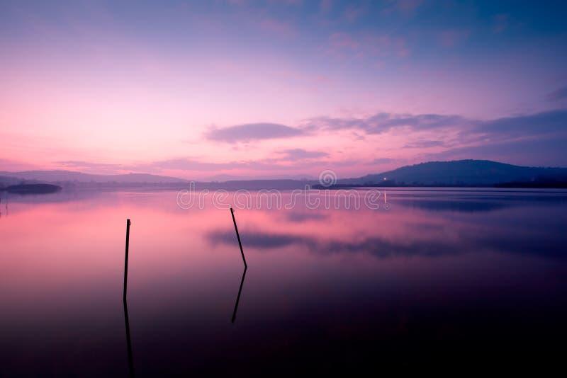 Tihany, Внутренн-озеро стоковое фото