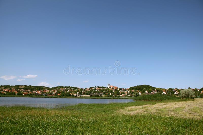 Tihany, lago Balaton en Hungría imagen de archivo