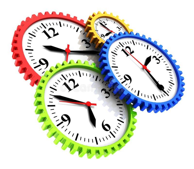 Tijd vector illustratie