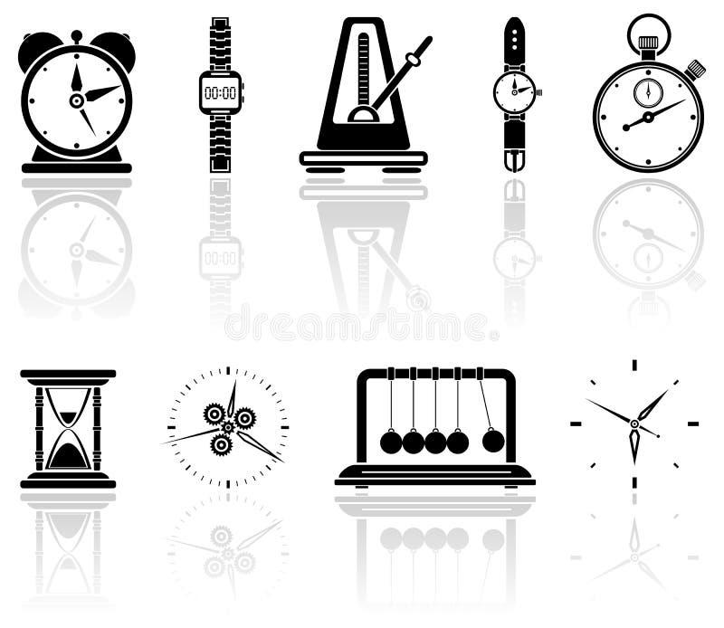 Tijd royalty-vrije illustratie