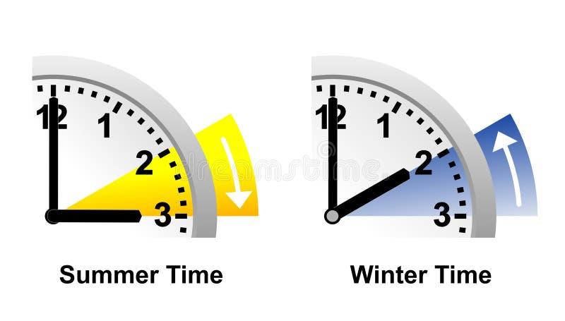 Tijd stock illustratie