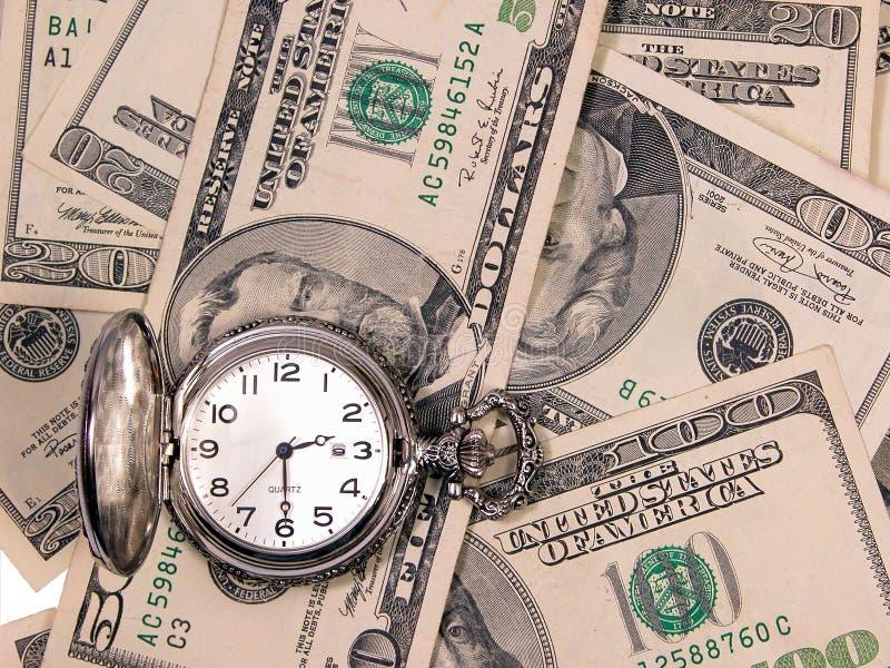 Download Tijd & geld stock foto. Afbeelding bestaande uit tijd - 49414