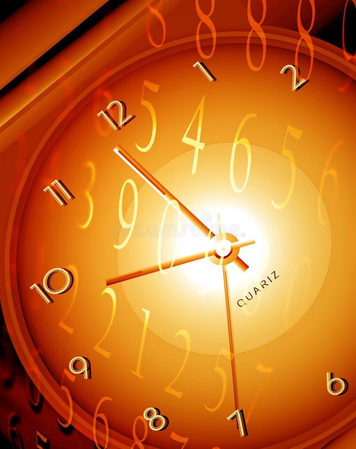 Tijd & ruimte vector illustratie