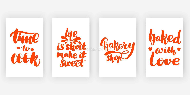 Tijd Cook Het leven is stock illustratie