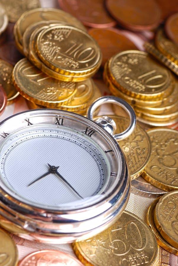 Tijd - een geld royalty-vrije stock afbeelding