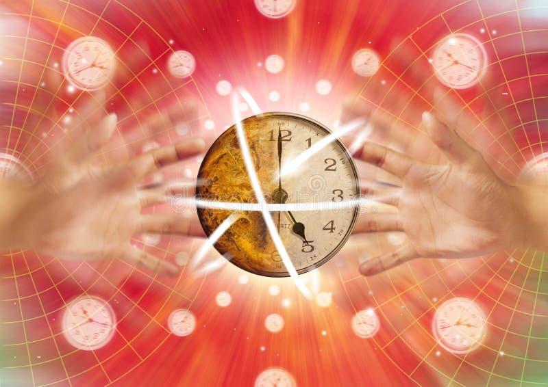 Tijd in Motie stock foto
