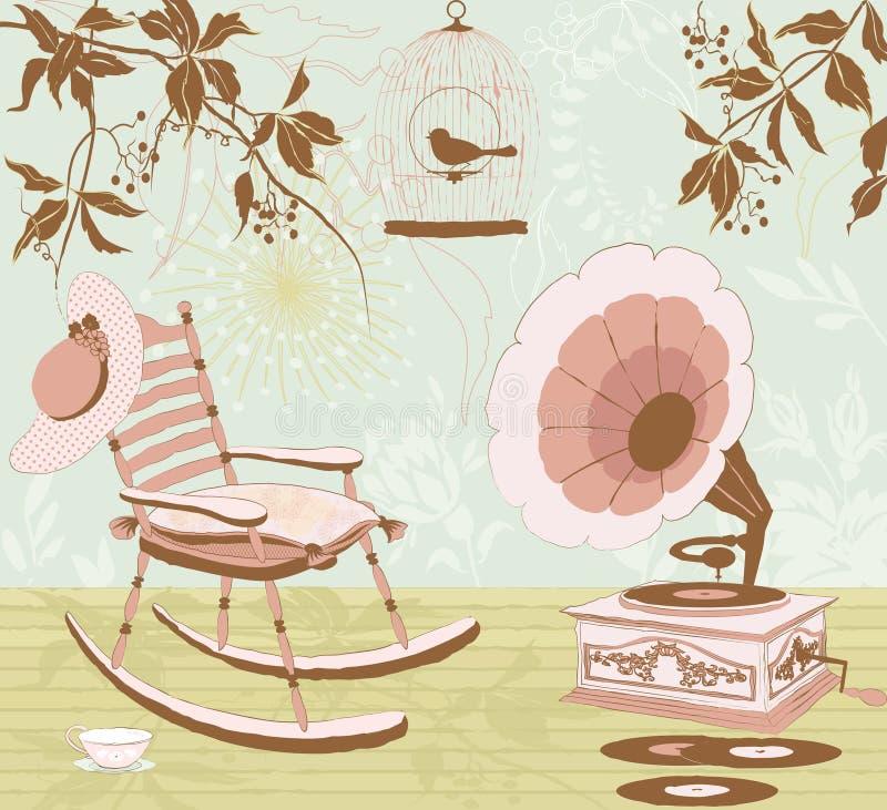 Tijd te dromen stock illustratie