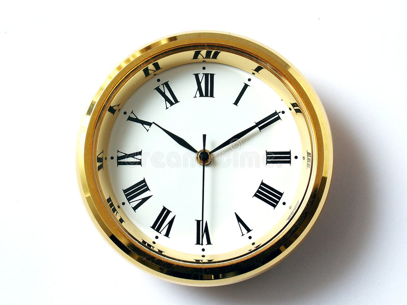 Tijd, Tien Tien royalty-vrije stock fotografie