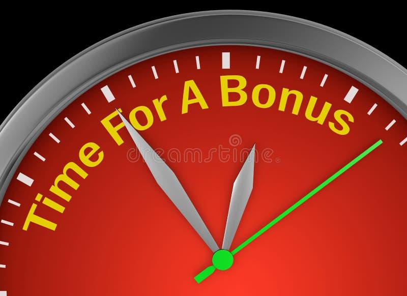 Tijd voor een bonus royalty-vrije illustratie