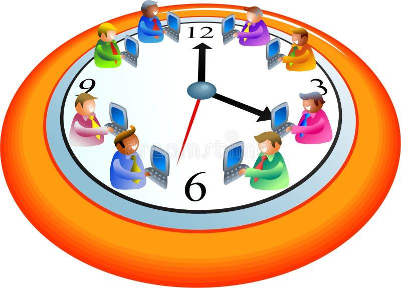 Tijd voor zaken vector illustratie