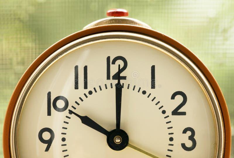 Tijd - wekker stock afbeelding