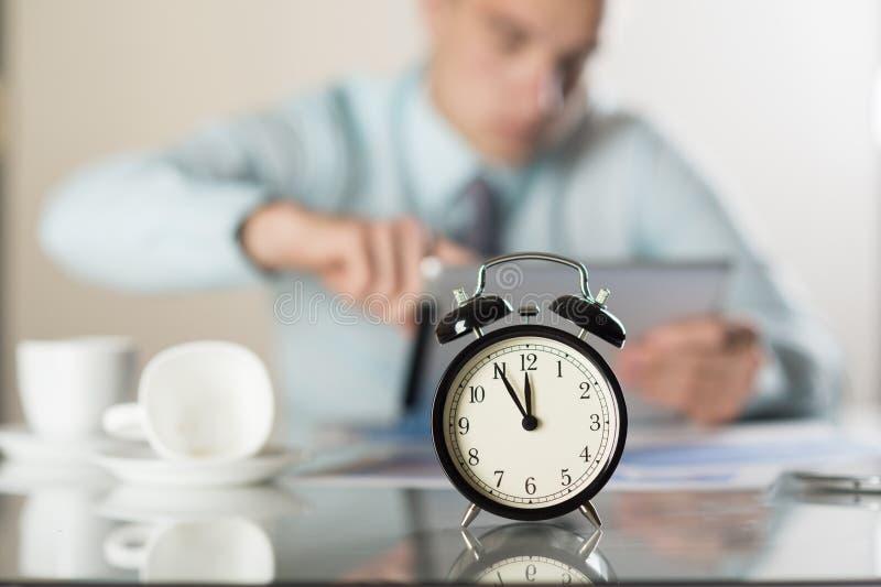 Tijd in zaken stock foto