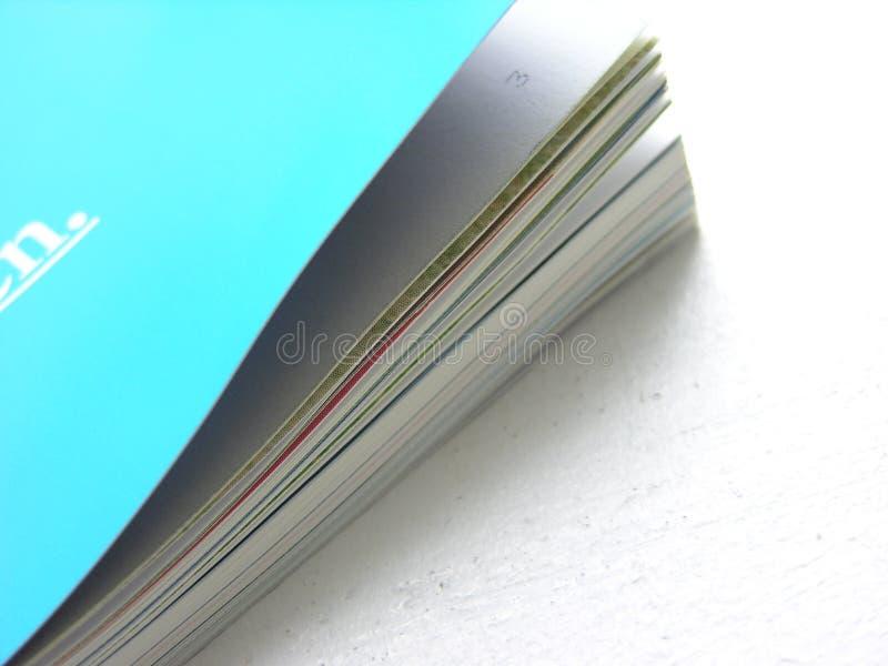 Tijdschrift stock afbeelding