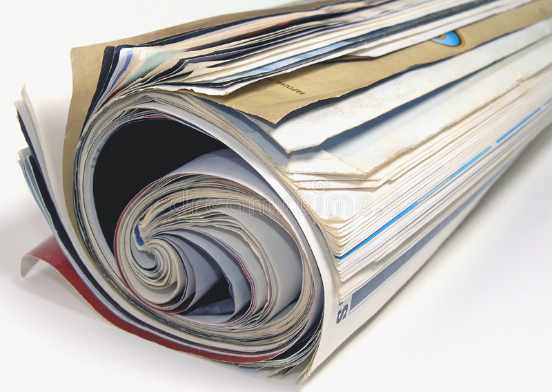 Tijdschrift royalty-vrije stock afbeeldingen