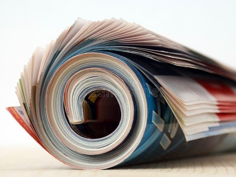 Tijdschrift royalty-vrije stock foto's