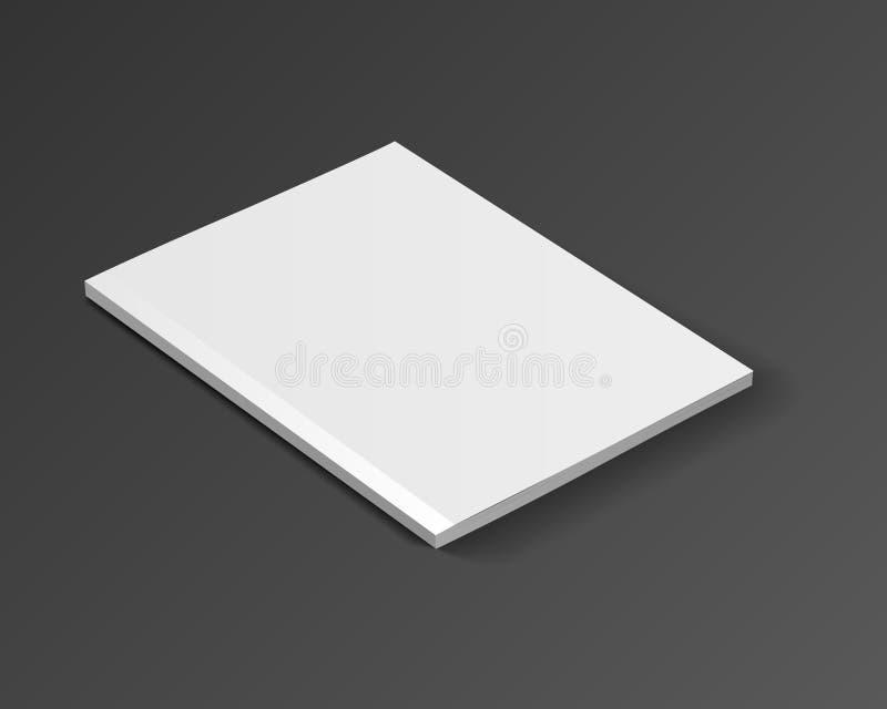 Tijdschrift vectormodel vector illustratie