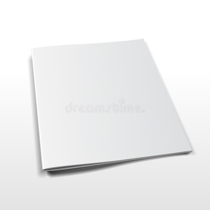 Tijdschrift vectormodel royalty-vrije illustratie