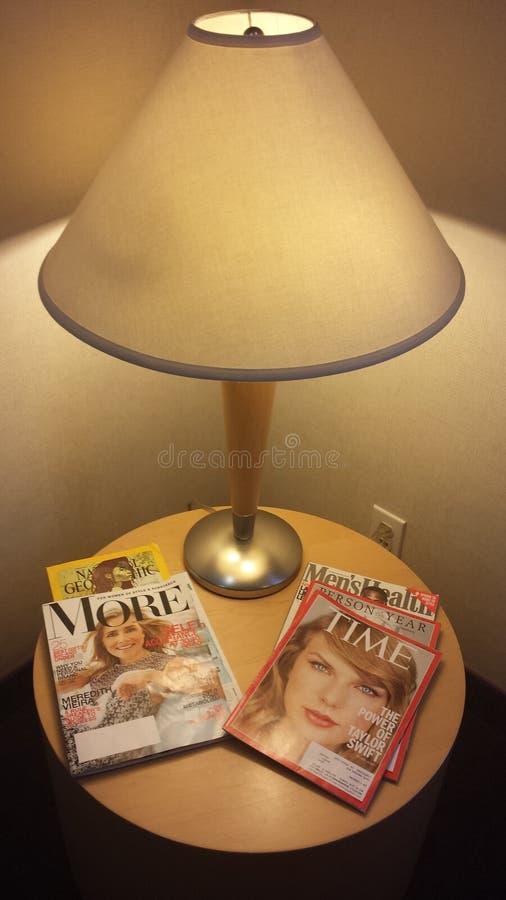 Tijdschriftlijst royalty-vrije stock afbeeldingen