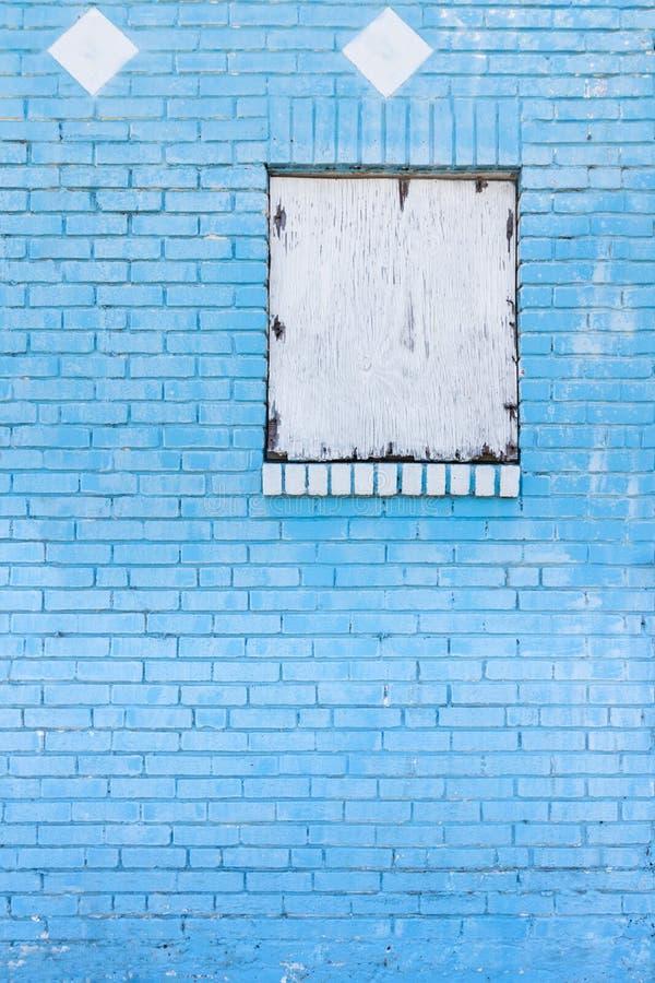 Tijolo azul para o fundo fotos de stock