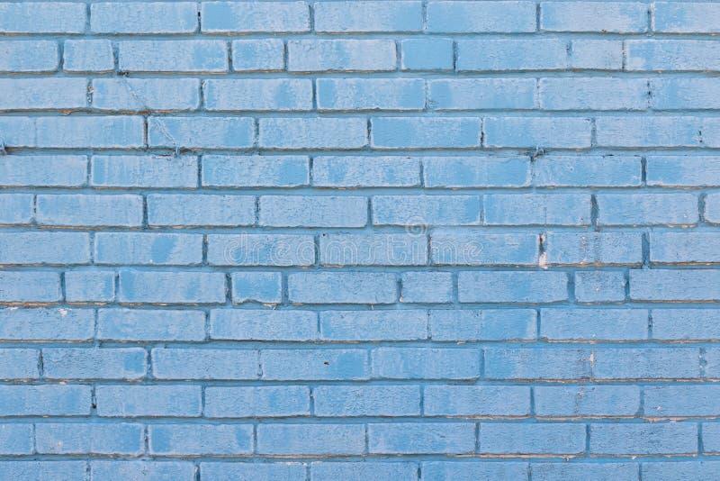 Tijolo azul para o fundo imagem de stock royalty free