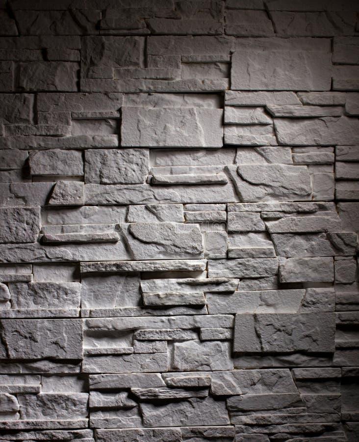 Tijolo da parede da iluminação imagem de stock