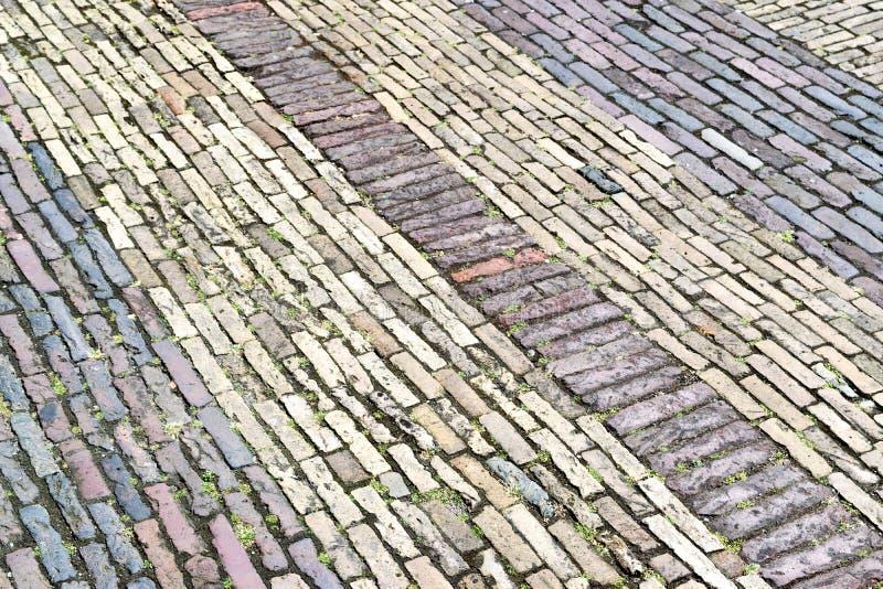 Tijolo em Amsterdão foto de stock