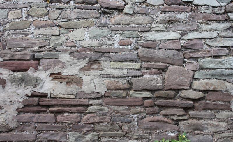 Tijolo medieval Wall71 imagem de stock