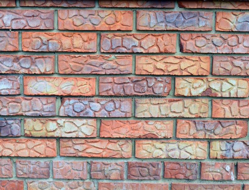 Tijolo, parede, textura, vermelho, velha, cimento, teste padrão, arquitetura, construção, pedra, parede de tijolo, fundos, constr fotografia de stock royalty free