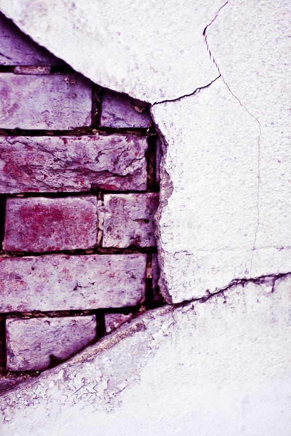 Download Tijolo Velho Parede Quebrada Foto de Stock - Imagem de tijolo, formulário: 10062076