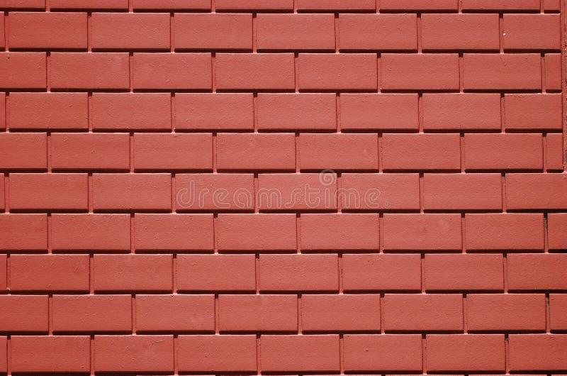 Tijolos vermelhos fotografia de stock