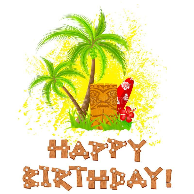 Tik wszystkiego najlepszego z okazji urodzin ilustracji