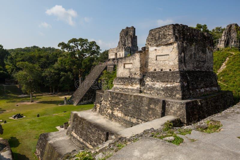 Tikal fotografía de archivo