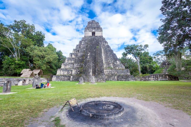 Tikal fotografía de archivo libre de regalías