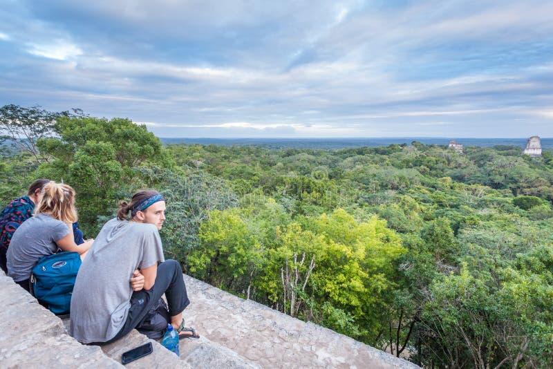 Tikal foto de archivo libre de regalías
