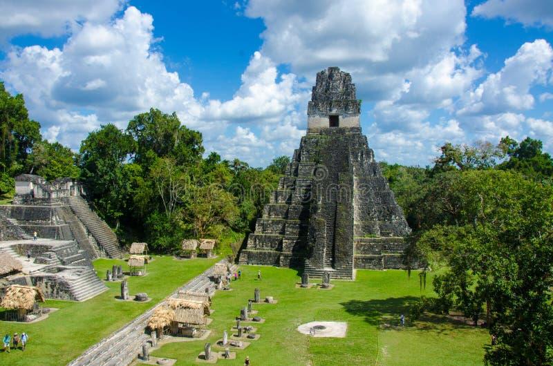 Tikal Guatemala foto de stock
