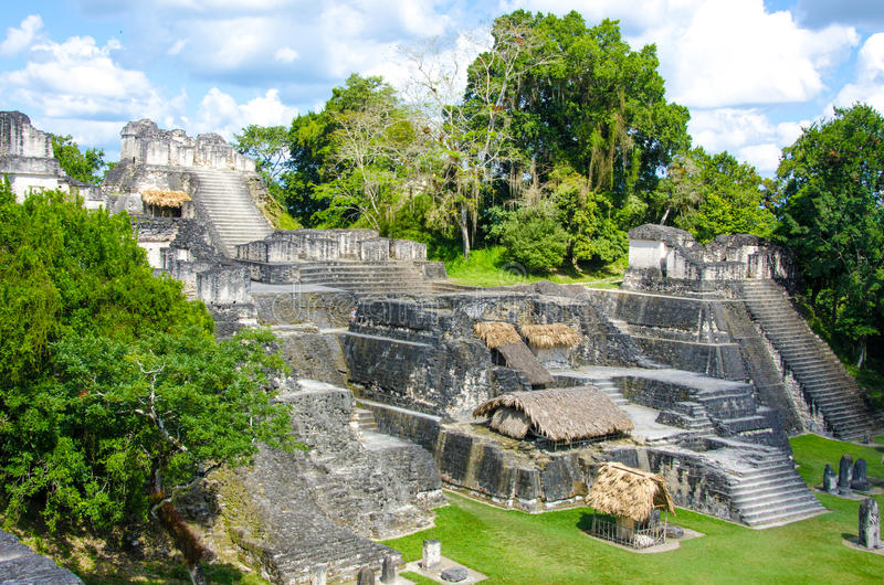 Tikal Guatemala fotografia de stock